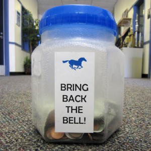 Bring Back the Bell collection jar