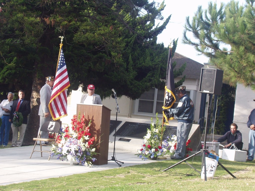 The San Dieguito High School Veterans Memorial