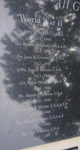 World War II Names