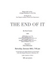 Thumbnail of program for this play