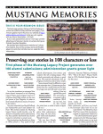 Mustang Memories Reunion Issue