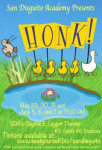 Honk! The Musical flyer