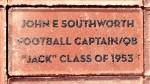 John E. Southworth brick