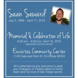 Memorial & Celebration of Life flyer