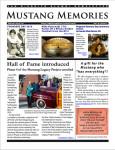 Download the Winter 2015-16 Mustang Memories Newsletter