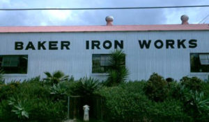 Street view of Baker Iron Works
