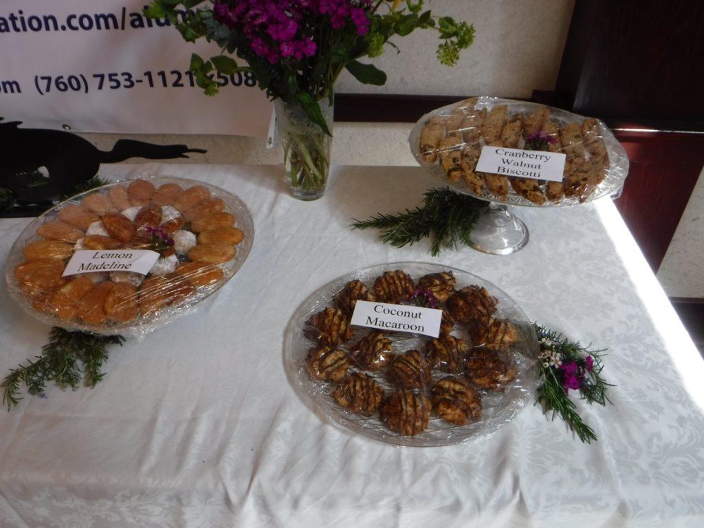Platters of cookies