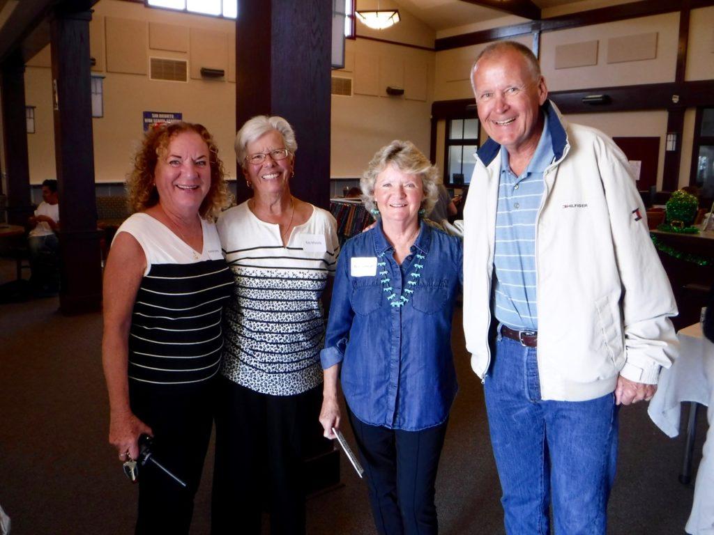 Jeanne Jones, Kay Moody, Fran Fenical and John Cannon