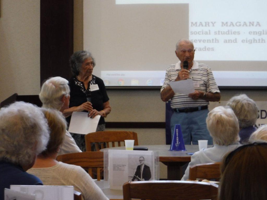 Mary Arballo Magana and Jay Williams