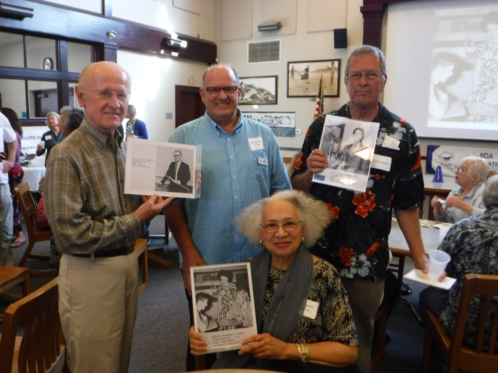 James Ringstrom, Ken Harrison ('73), Manuelita Brown, and Henry Herms!