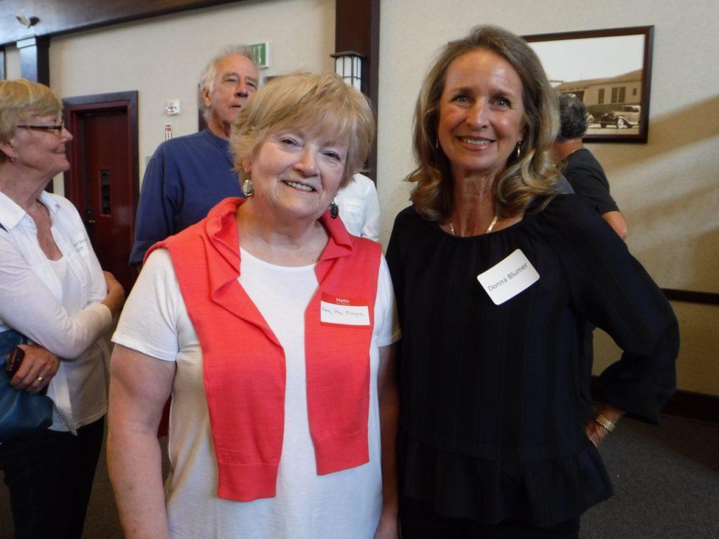 Mary Ann Minger and Donna Blackman Blumer