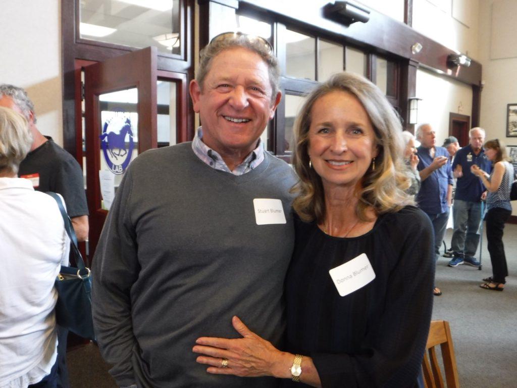 Stuart Blumer and Donna Blackman Blumer