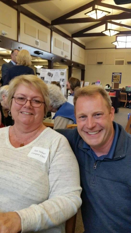 Sue and Bjorn