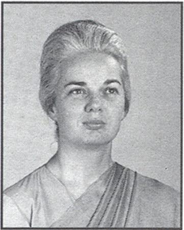 Portrait of Sri Mrinalini Mata