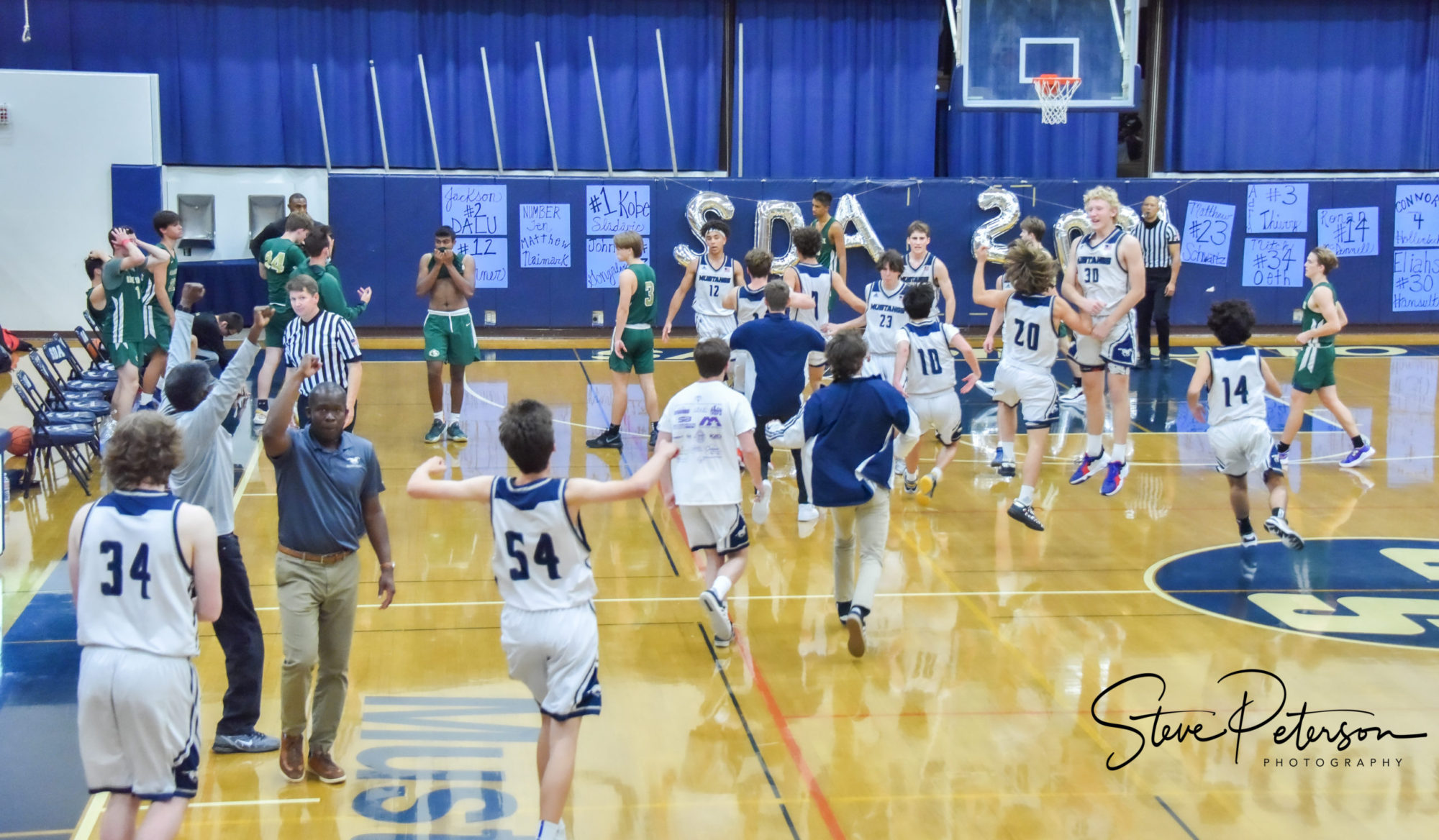 SDA Mustangs Boys Basketball