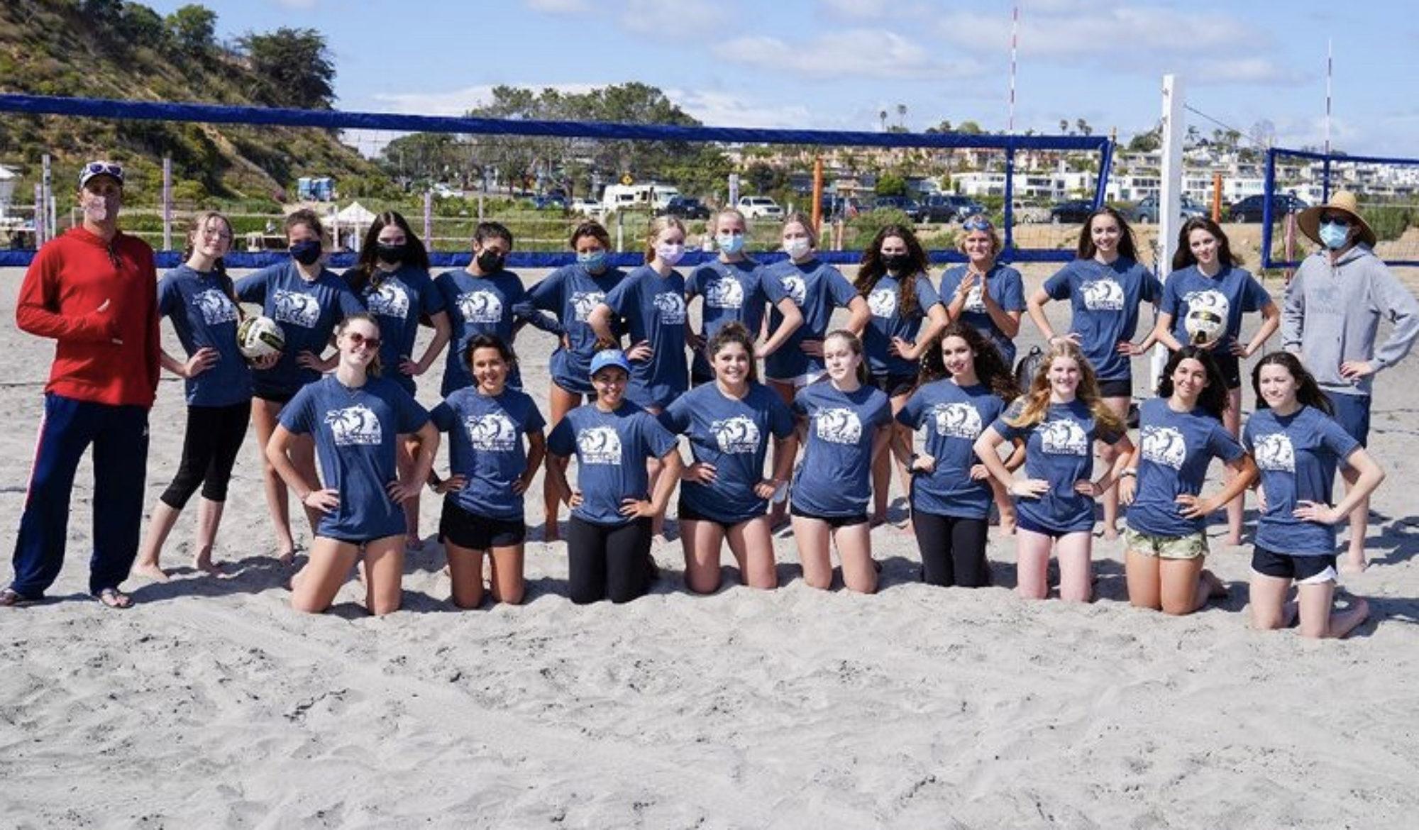 Mustang Girls Beach Volleyball