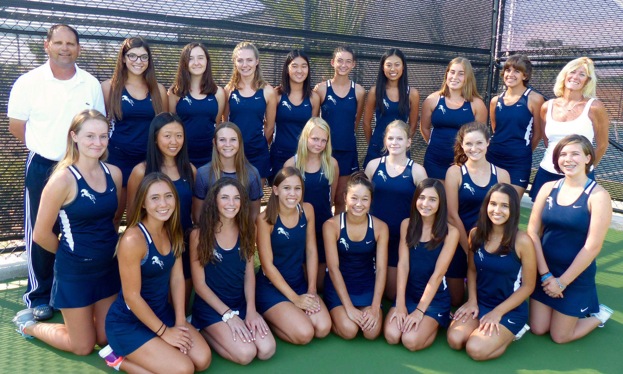 SDA Mustangs Girls Tennis