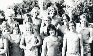 Members of the 1974-75 Swim Team